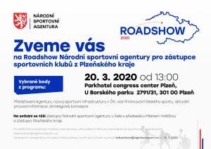 Roadshow Národní sportovní agentury v Plzni